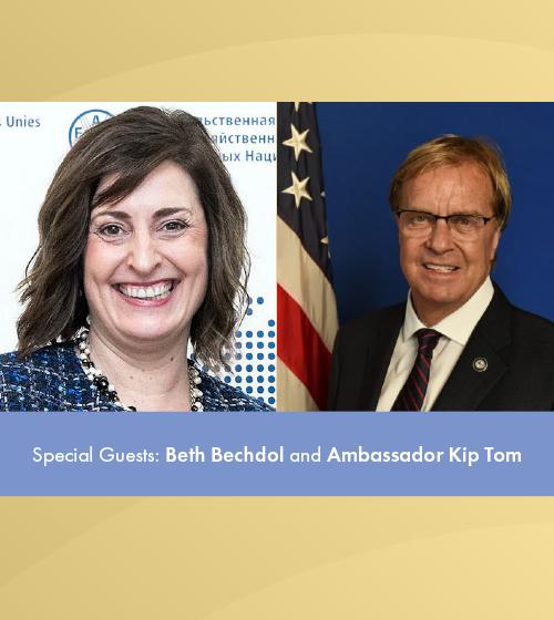 BethBechdol & Ambassador Kip Tom